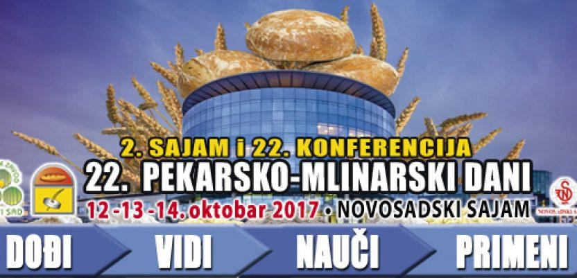 """""""Pekarsko mlinarski dani"""" od 12 do 14. oktobra u Novom Sadu"""
