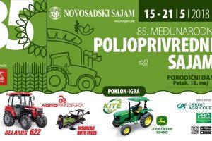 Poljoprivredni sajam u Novom Sadu od 15. do 21. maja