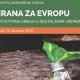 """Forum """"Hrana za Evropu"""" 13. decembra u Vrdničkoj kuli"""