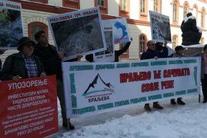 Održan protest zbog gradnje mini hidroelektrana u Srbiji