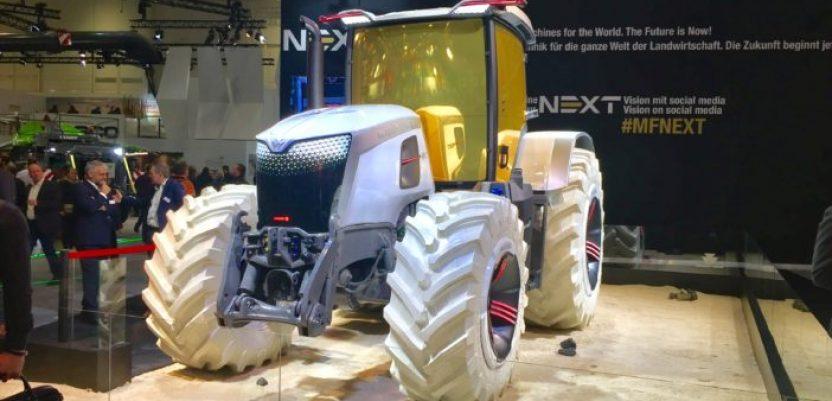 Traktor inspirisan prvim sletanjem na Mesec