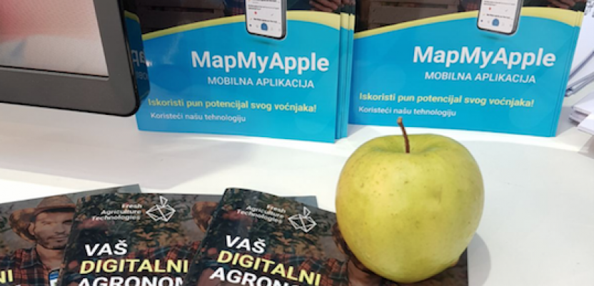 Aplikacija MapMyApple – tehnološko rešenje za pomoć u proizvodnji