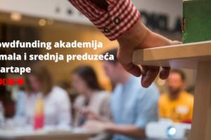 Besplatna Crowdfunding akademija za MSP i startape