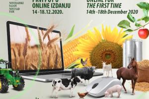 NS Poljoprivredni sajam od 14. do 18. decembra online