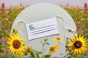 Biorazgradive maske koje se pretvaraju u cveće