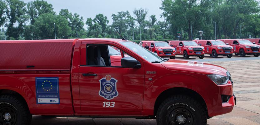 EU obezbedila 27 vozila za gašenje šumskih požara