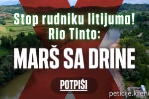 Peticiju protiv rudnika Rio Tinta potpisalo preko 100.000 ljudi