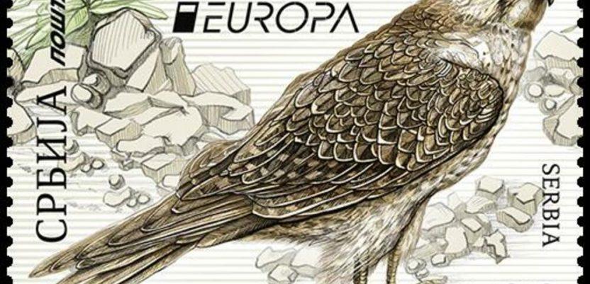 Stepski soko na evropskom izboru za najlepšu poštansku marku